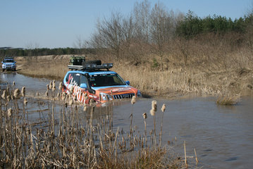 10. March 2008: Offroad training near the Eurospeedway Lausitz, mileage 537 km