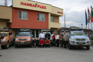 18. March 2008: Bulgaria - HANSA-FLEX Plovdiv, mileage 3.785 km