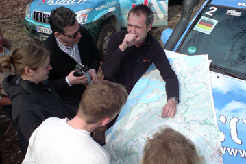 14. March 2008: Croatia - talks on the upcoming route, mileage 2.027 km