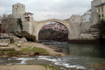 16. March 2008: Bosnia-Herzegovina - Mostar - Stari Most, mileage 2.662 km